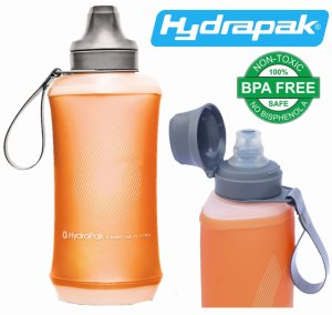 BUTELKA BIDON KOMPRESYJNY HYDRAPAK CRUSH 500ml Mojave Orange